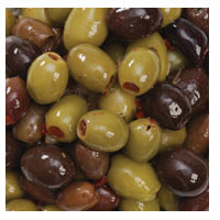 Instore Deli Guzzardi Olives Mixed Pitted 1kg - buy online at countdown.co.nz