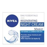 Nivea Daily Essentials Night Cream Regenerating Norm/comb Skin 50ml - buy online at countdown.co.nz