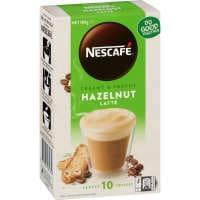 Nescafe Cafe Menu Coffee Mix Hazelnut Latte 180g