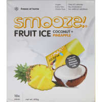 Smooze Ready To Freeze Fruit Ice Coconut & Pineapple squeezy 10pk - buy online at countdown.co.nz