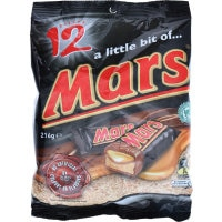 Mars Share Pack Individually Wrapped 216g