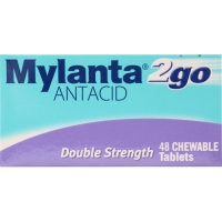 Mylanta 2go Antacid Double Strength 48pk - buy online at countdown.co.nz