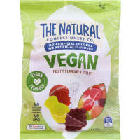 The Natural Confectionery Co Jelly Sweets Vegan Fruit Mix