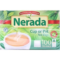 Nerada Tea Bags 200g 100pk - buy online at countdown.co.nz