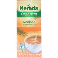 Nerada Organic Herbal Tea Rooibos & Vanilla tea bags 25pk - buy online at countdown.co.nz