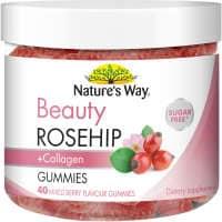 Nature's Way Beauty Rosehip & Collagen Gummies