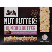 Nice & Natural Nut Butter Bar Almond & Coconut