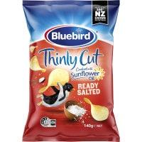 Bluebird Thin Cut Potato Chips Ready Salted