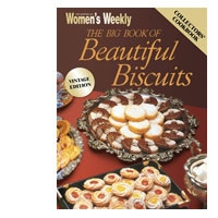 Australian Womens Weekly Cook Book Big Book Of Beautiful Biscuits each - buy online at countdown.co.nz