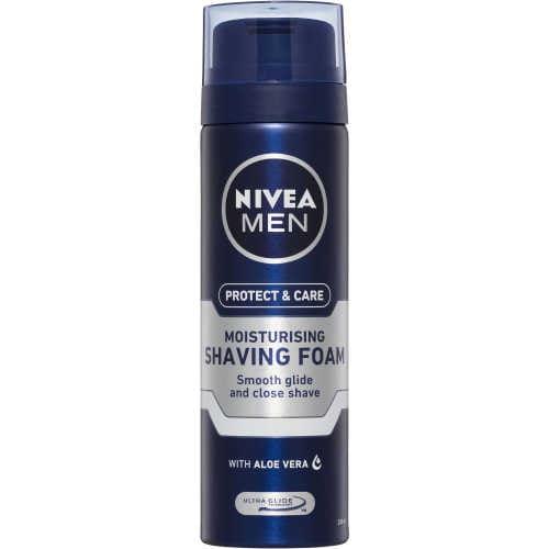 Nivea For Men Shave Foam Moisturising 200ml - buy online at countdown.co.nz