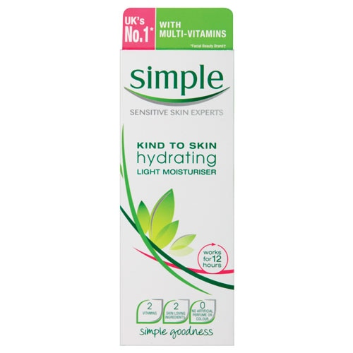 Simple Day Cream Light Hydrating 125ml - buy online at countdown.co.nz