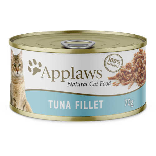 Applaws Cat Food Tuna Fillets single can 70g - buy online at countdown.co.nz