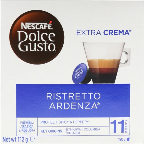 Nescafe Dolce Gusto Coffee Capsules Ristretto Ardenza 112g 16pk - buy online at countdown.co.nz