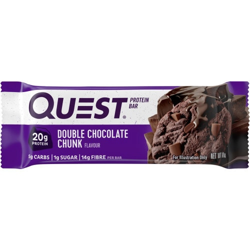Quest Bar Protein Bar Double Choc Chunk 60g - buy online at countdown.co.nz