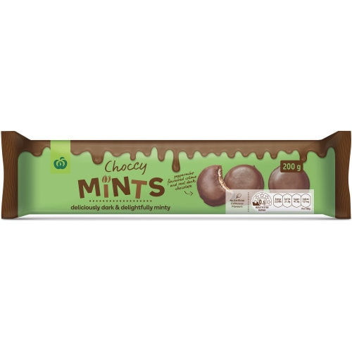 Countdown Chocolate Biscuits Choccy Mints 200g - buy online at countdown.co.nz