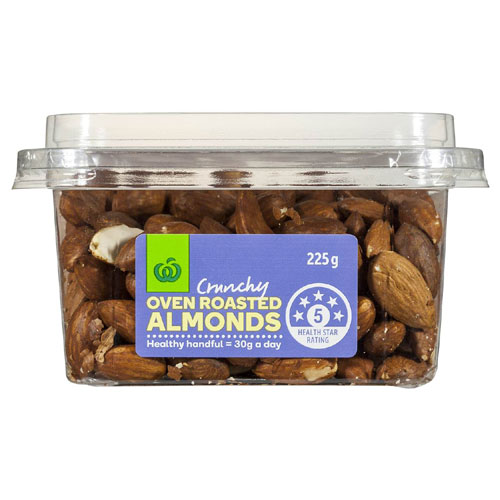 Super Pots Almonds Oven Roasted pottle 225g - buy online at countdown.co.nz