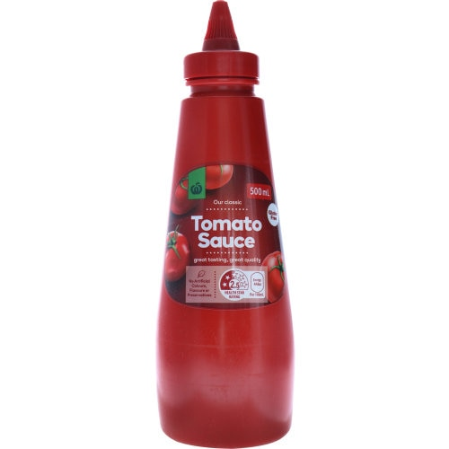 Countdown Tomato Sauce Squeeze 500ml - buy online at countdown.co.nz