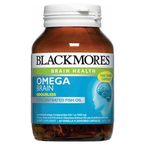 Blackmores Omega Brain Formula Caps 60pk - buy online at countdown.co.nz