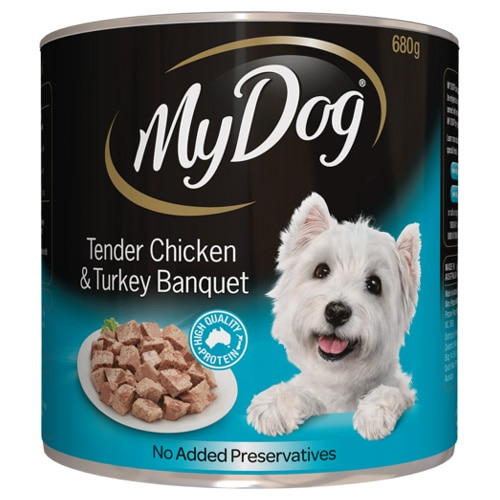 My Dog Dog Food Tender Chicken & Turkey 680g - buy online at countdown.co.nz