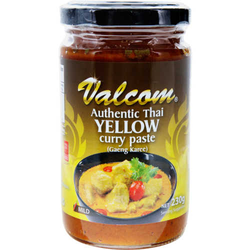Valcom Asian Yellow Curry Paste 230g - buy online at countdown.co.nz
