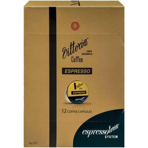Espressotoria Vittoria Coffee Capsules Espresso 12pk - buy online at countdown.co.nz
