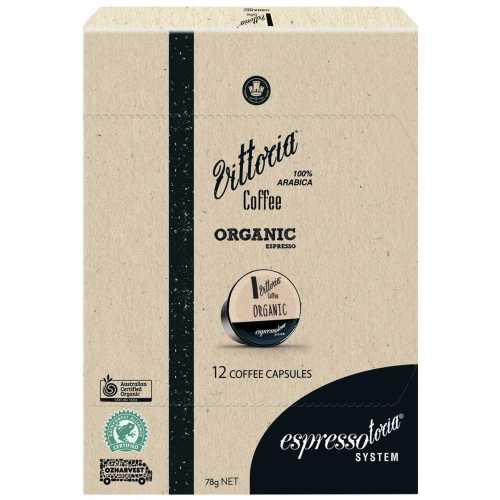 Espressotoria Vittoria Coffee Capsules Organic 12pk - buy online at countdown.co.nz
