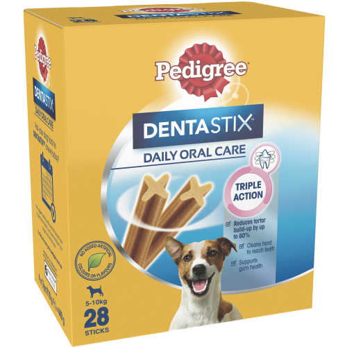 Pedigree Dentastix Dog Treats Daily Oral Care Small Dog 28pk - buy online at countdown.co.nz