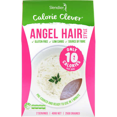 Slendier Slim Prepacked Meal Angel Hair Pasta 400g - buy online at countdown.co.nz