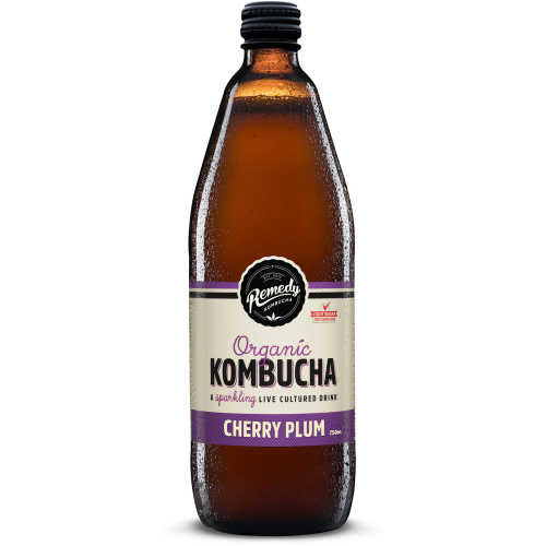 Remedy Kombucha Cherry Plum 750ml - buy online at countdown.co.nz