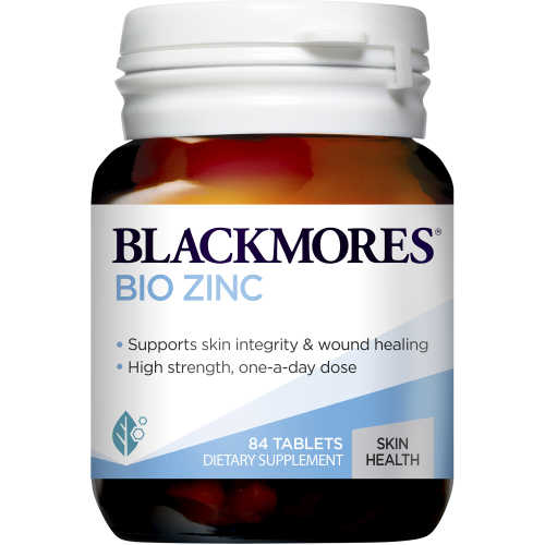 Blackmores Bio Zinc Tablets 84pk - buy online at countdown.co.nz