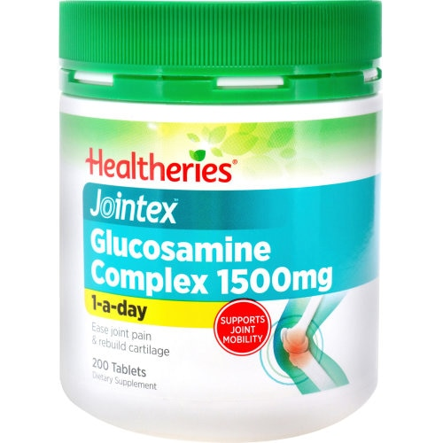 Healtheries Glucosamine Value Pack 1500 200pk - buy online at countdown.co.nz