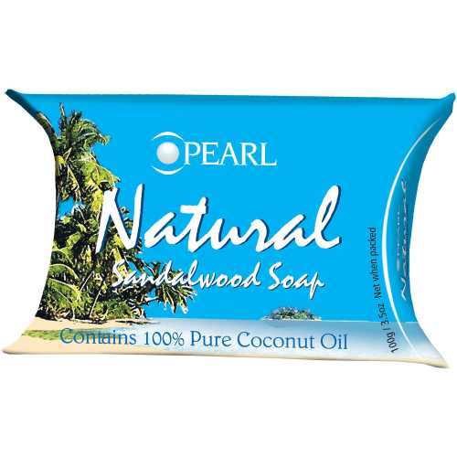 Pearl Soap Natural Sandalwood bar 100g - buy online at countdown.co.nz
