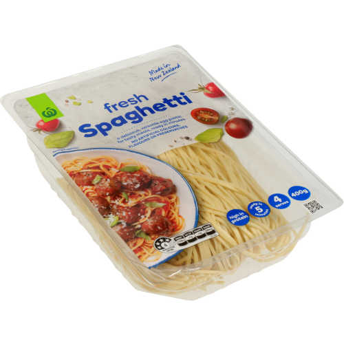 Countdown Chilled Flat Pasta Spaghetti 400g - buy online at countdown.co.nz