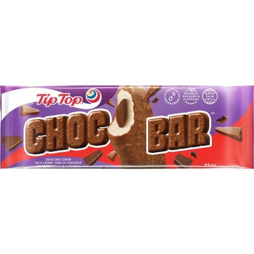 Tip Top Choc Bar Ice Cream On Stick Choc Bar each - buy online at countdown.co.nz
