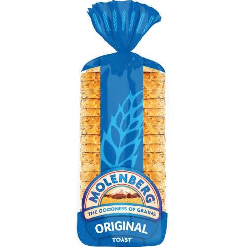 Molenberg Toast Bread Original 700g - buy online at countdown.co.nz