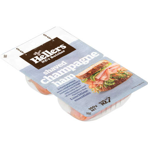 Hellers Ham Shaved Champagne Leg 100g - buy online at countdown.co.nz