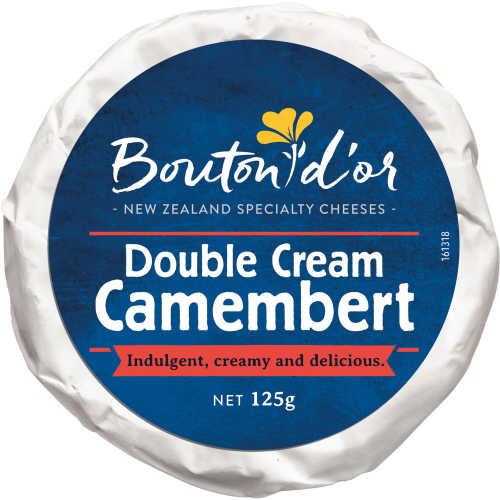Bouton Dor Soft White Cheese Double Cream Camembert 125g - buy online at countdown.co.nz