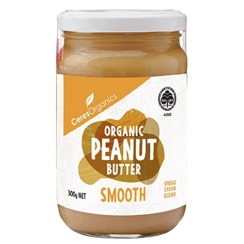 Ceres Organics Peanut Butter Smooth 300g - buy online at countdown.co.nz