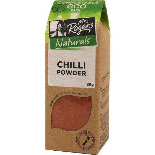 Mrs Rogers Eco Pack Chilli Ground 35g - buy online at countdown.co.nz