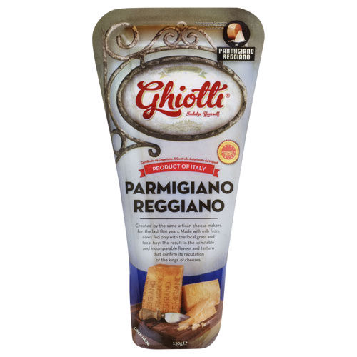 Ghiotti Fresh Cheese Parmigiano Reggiano tube 150g - buy online at countdown.co.nz