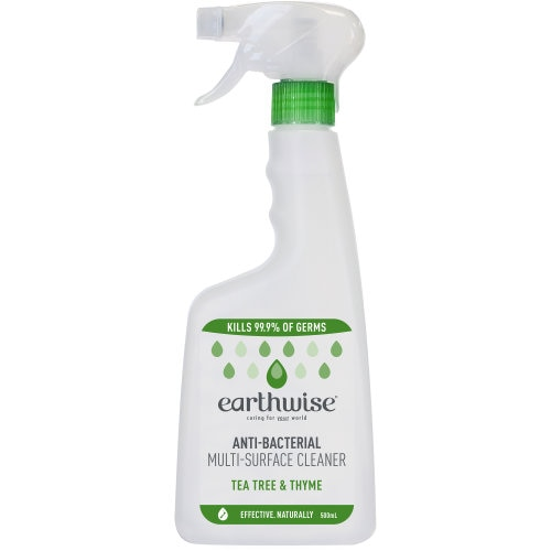 Earthwise Spray Cleaner Multi Surface Tea Tree & Thyme trigger 500ml - buy online at countdown.co.nz