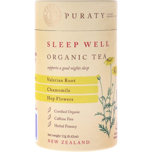 Puraty Potent Organic Herbal Tea Sleep Well 12pk - buy online at countdown.co.nz