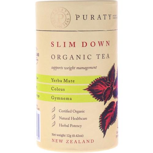 Puraty Potent Organic Herbal Tea Slim Down 12pk - buy online at countdown.co.nz