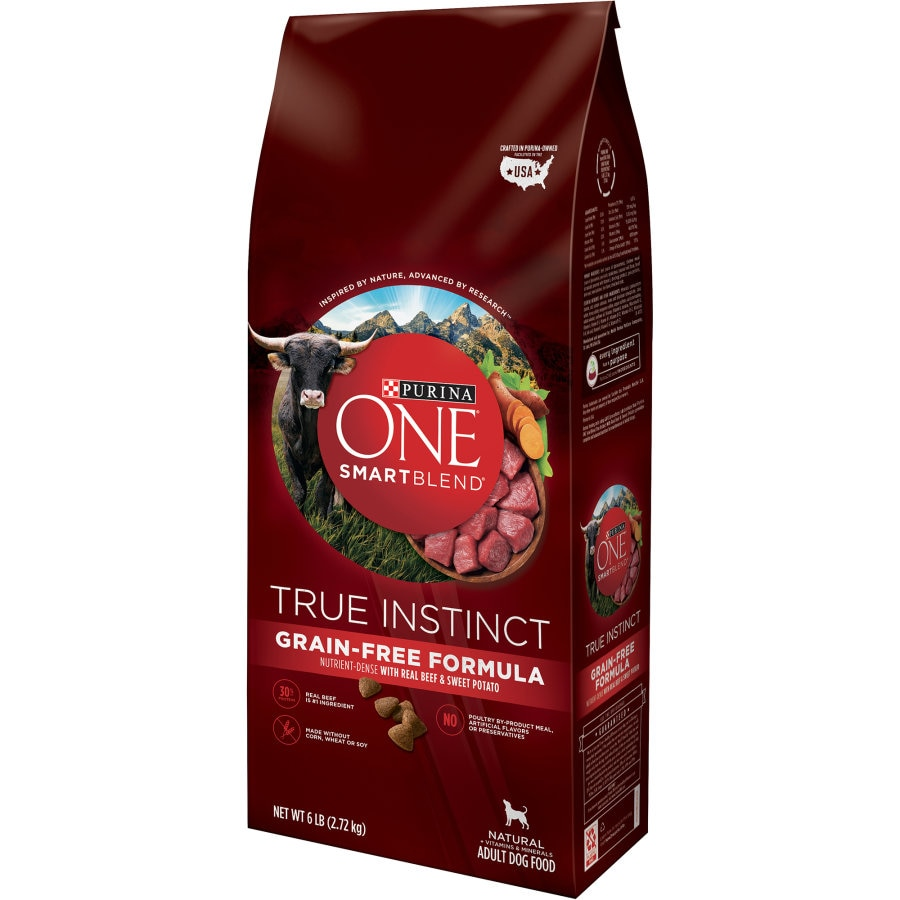 Purina One Dog Food Beef Grain Free 2.72kg - buy online at countdown.co.nz