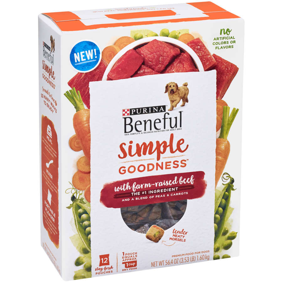 Purina Beneful Dry Dog Food Simple Goodness Beef 1.6kg - buy online at countdown.co.nz