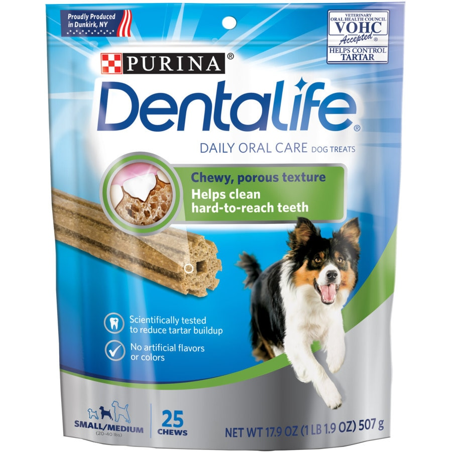Dentalife Dog Treats Small To Medium Dog 507g 25pk - buy online at countdown.co.nz