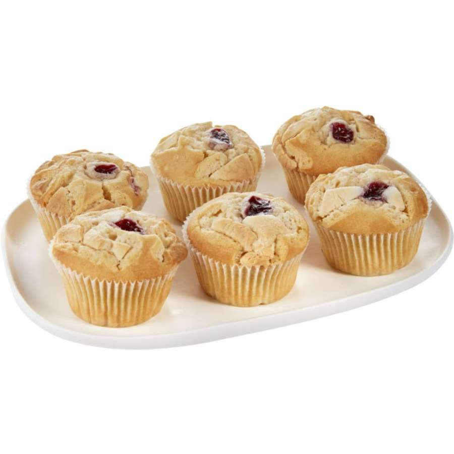 Instore Bakery Muffins Raspberry White Chocolate 6pk - buy online at countdown.co.nz