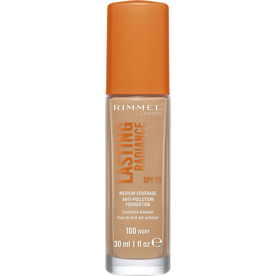 Rimmel Lasting Radiance Foundation Ivory 100 30ml - buy online at countdown.co.nz