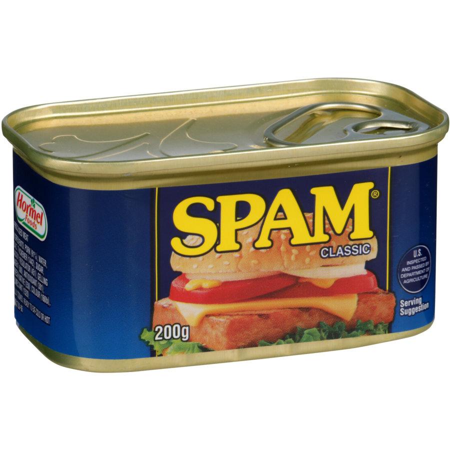 Spam Ham Spiced Regular 200g - buy online at countdown.co.nz