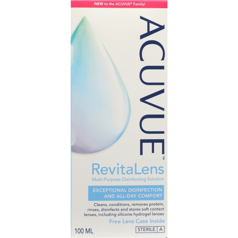 Acuvue Revitalens Contact Lens Solution, 100ml